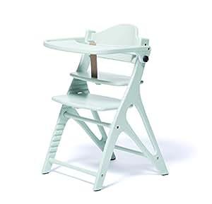 大和屋 アッフル ハーブグリーン A03 赤ちゃんから大人まで使えるベビーチェア