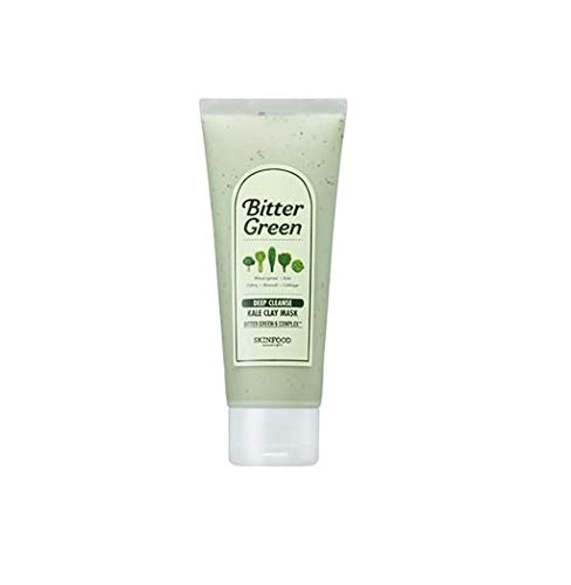 テープワット小間Skinfood ビターグリーンケールクレイマスク/bitter green kale clay mask 150g [並行輸入品]