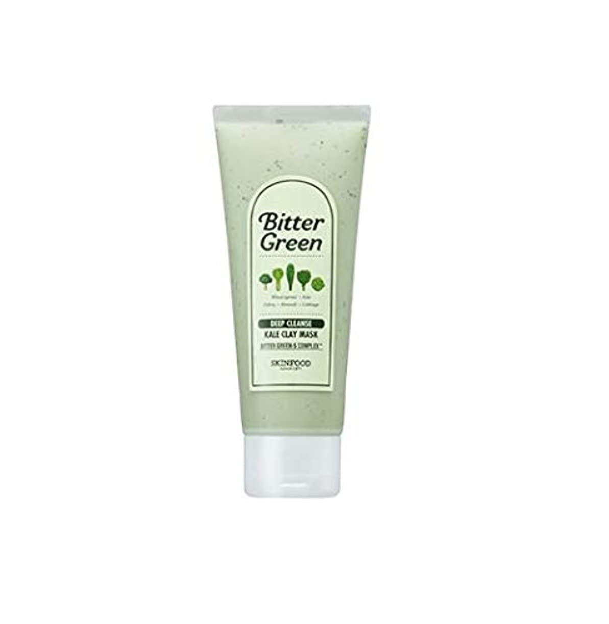 食用対処するに対処するSkinfood ビターグリーンケールクレイマスク/bitter green kale clay mask 150g [並行輸入品]
