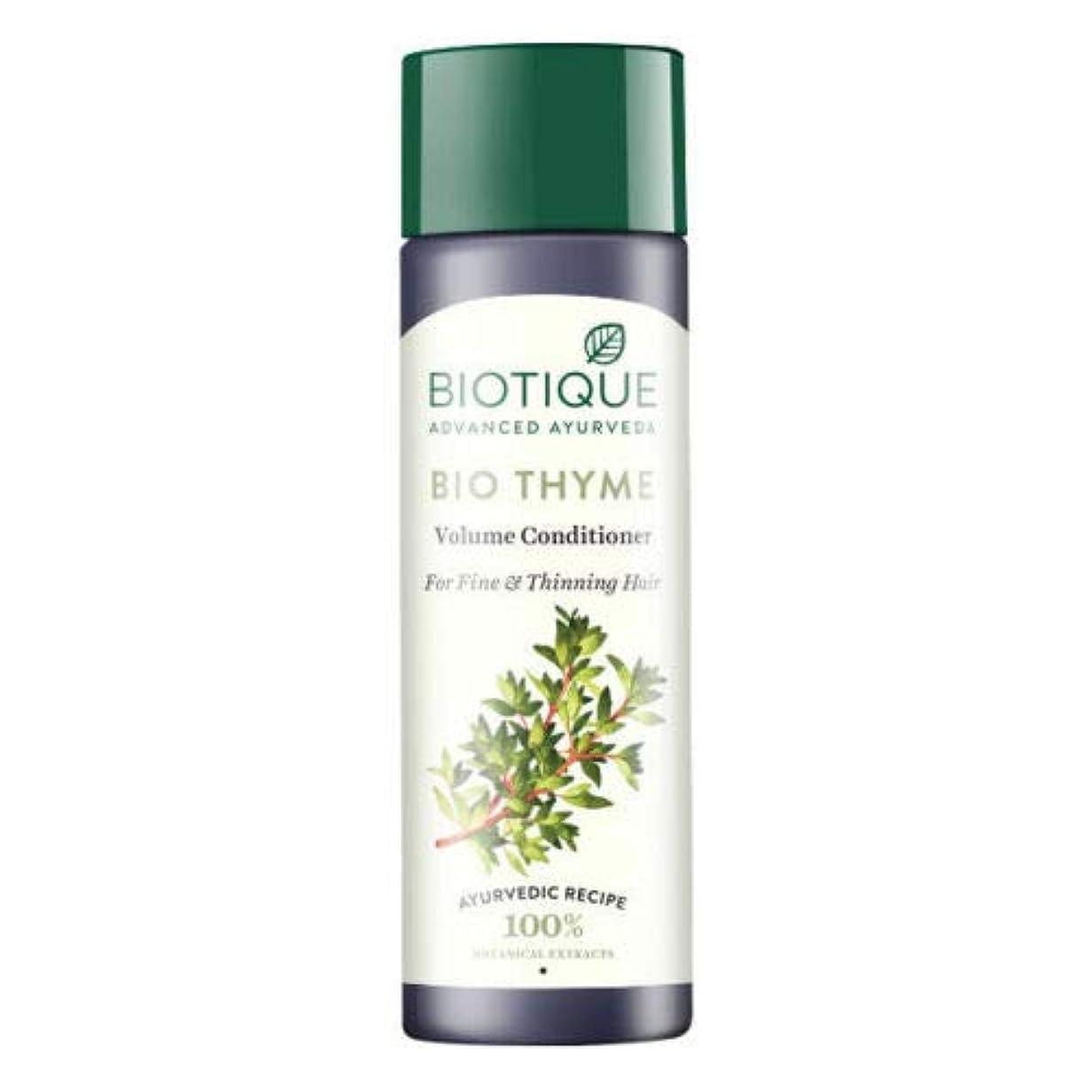 謎めいたまっすぐにする角度Biotique Bio Thyme Fresh Sparkle Volume Conditioner 200 ml For Thinning Hair 薄くなる毛のためのBiotiqueバイオタイムの新しい輝きの量のコンディショナー