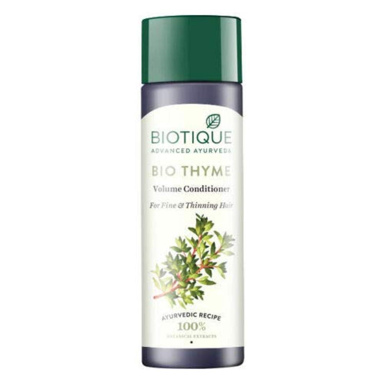 シアー報復モンクBiotique Bio Thyme Fresh Sparkle Volume Conditioner 200 ml For Thinning Hair 薄くなる毛のためのBiotiqueバイオタイムの新しい輝きの量のコンディショナー