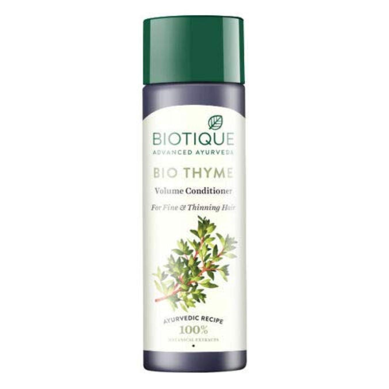 ぎこちない明確に立ち寄るBiotique Bio Thyme Fresh Sparkle Volume Conditioner 200 ml For Thinning Hair 薄くなる毛のためのBiotiqueバイオタイムの新しい輝きの量のコンディショナー