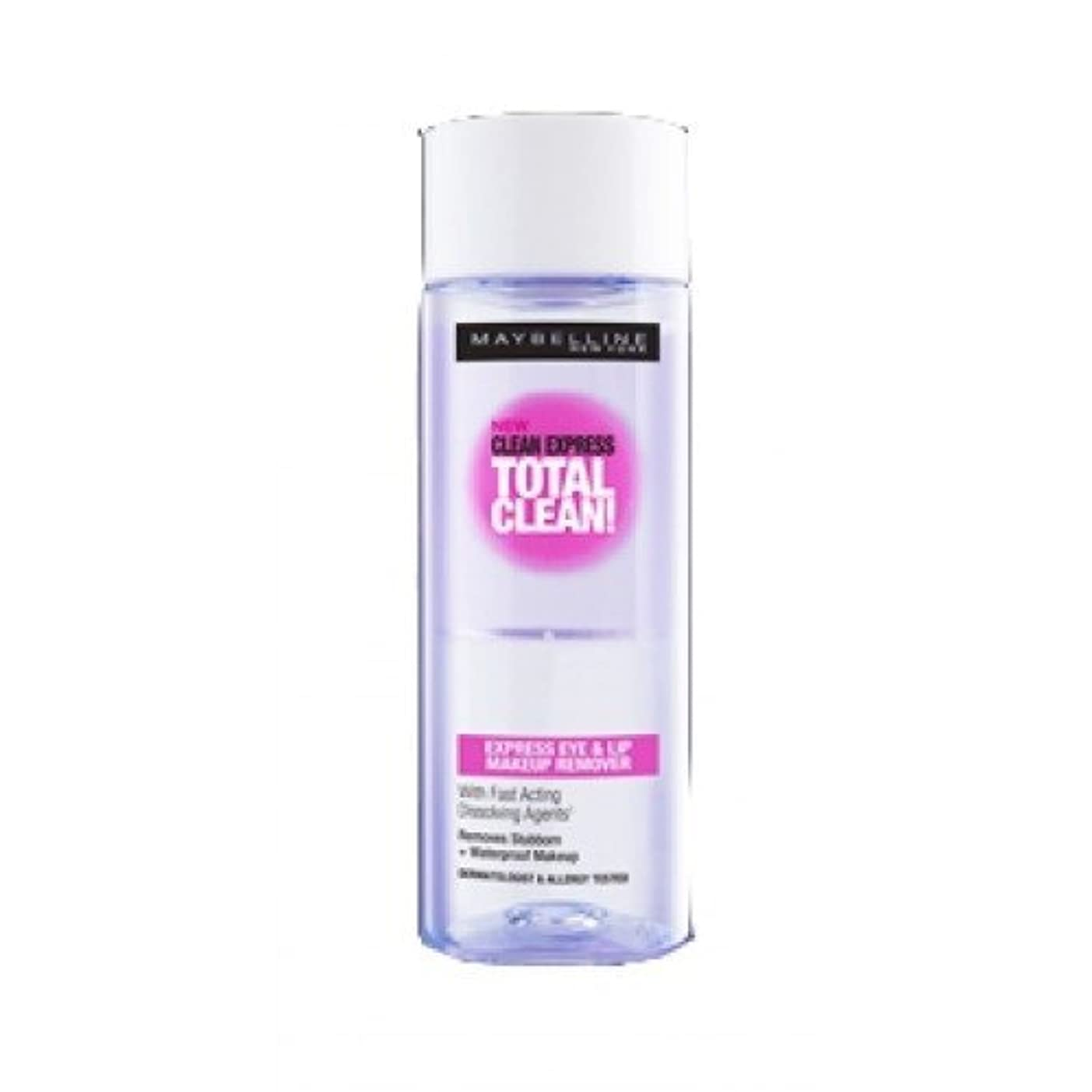 イソギンチャク意志に反するMaybelline Clean Express Total Clean Make-Up Remover, 70 ml