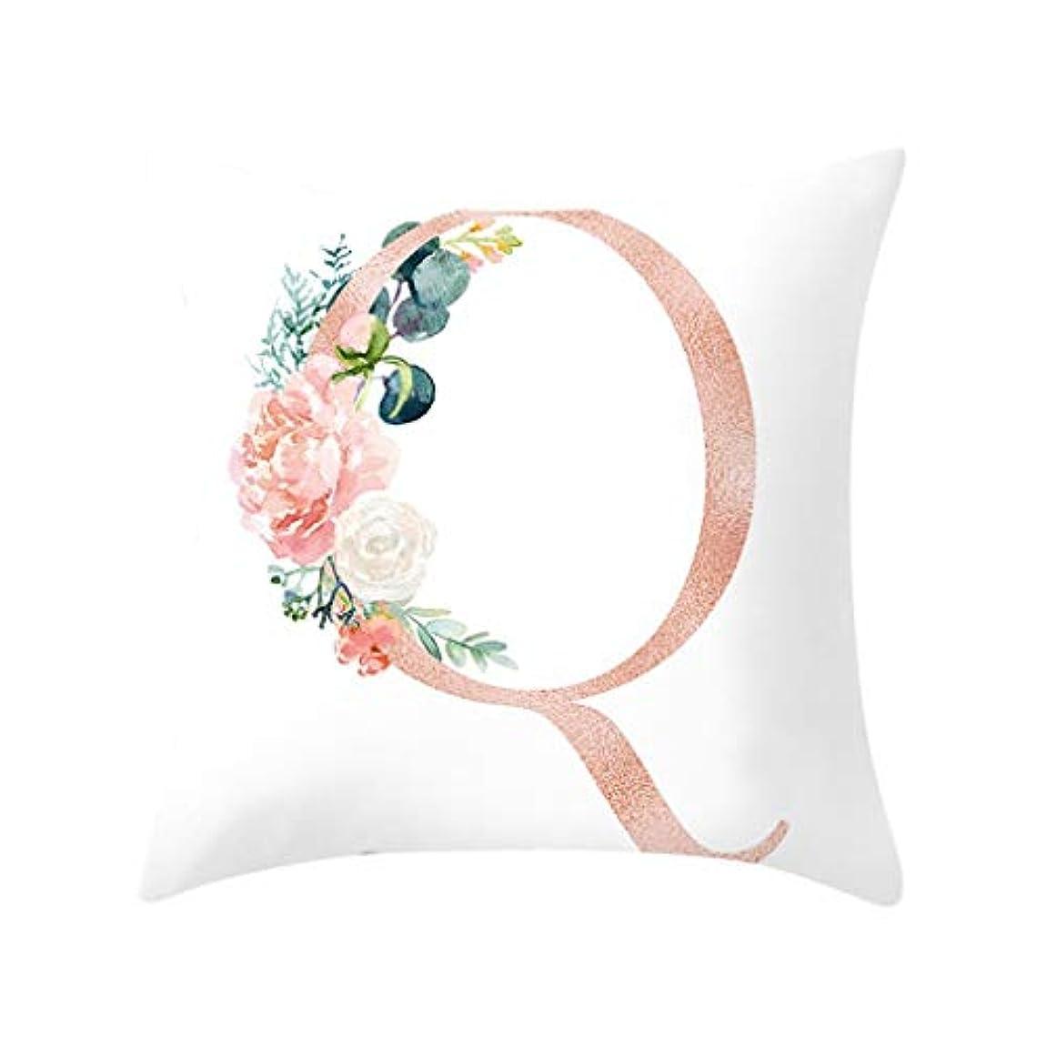 代数的フェミニンショルダーLIFE 装飾クッションソファ手紙枕アルファベットクッション印刷ソファ家の装飾の花枕 coussin decoratif クッション 椅子
