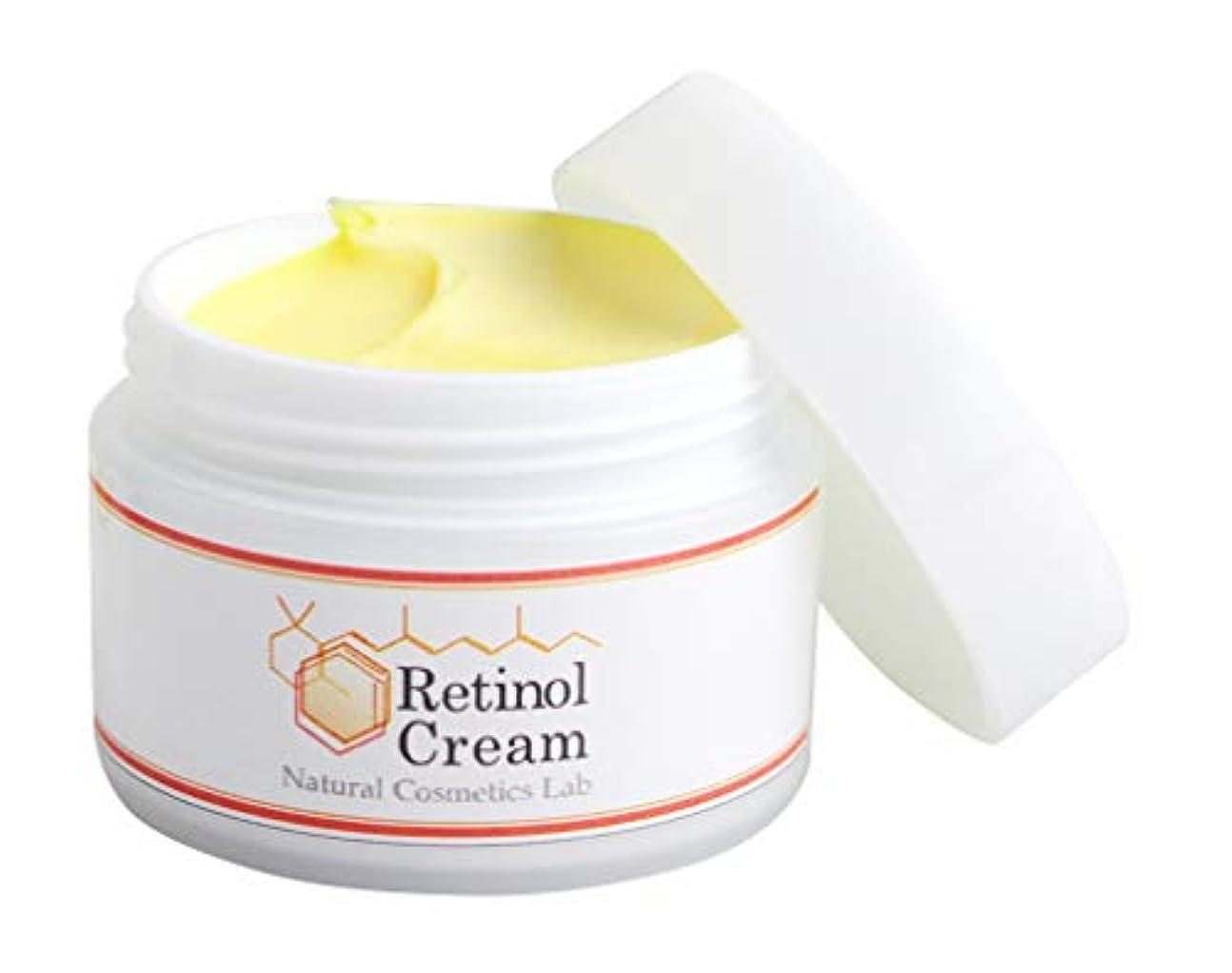 地下室水っぽい絶妙自然化粧品研究所 レチノールクリーム 35g