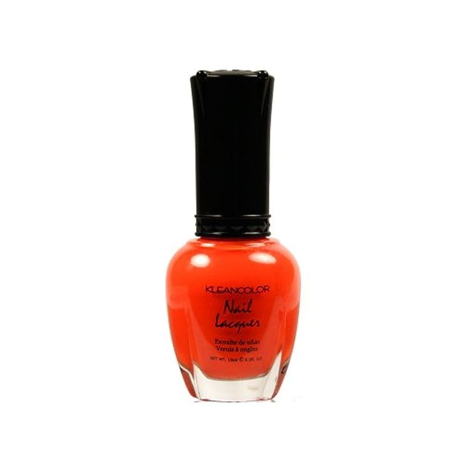 令状内なる市長(6 Pack) KLEANCOLOR Nail Lacquer 4 - Tangerine Burst (並行輸入品)