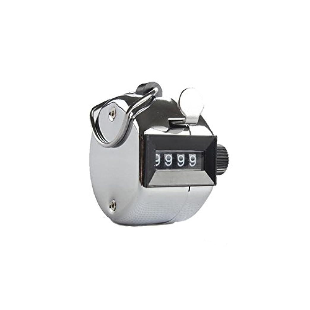 ラウンジミュート連続したエクステカウンター(シルバー)手持ちホルダー付き 数取器 まつげエクステ用品