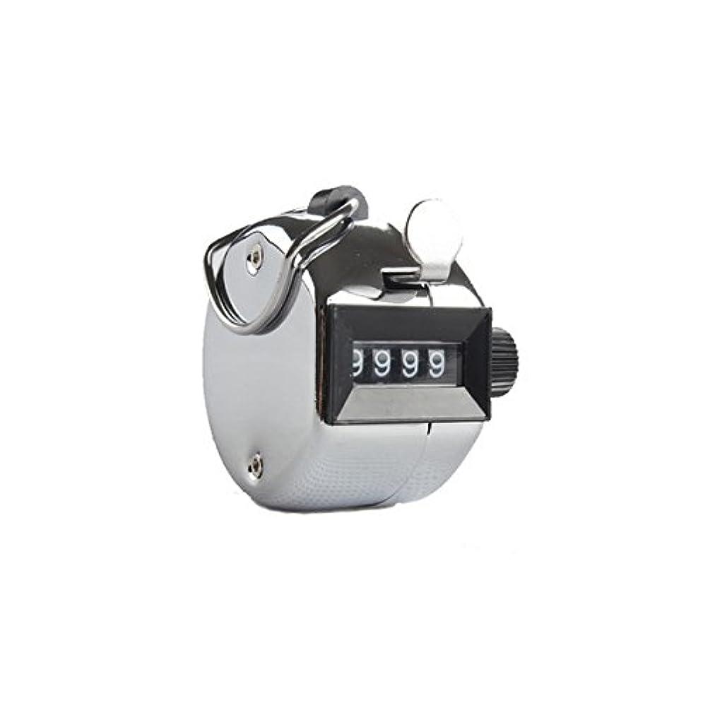 レインコート運動する魔術エクステカウンター(シルバー)手持ちホルダー付き 数取器 まつげエクステ用品