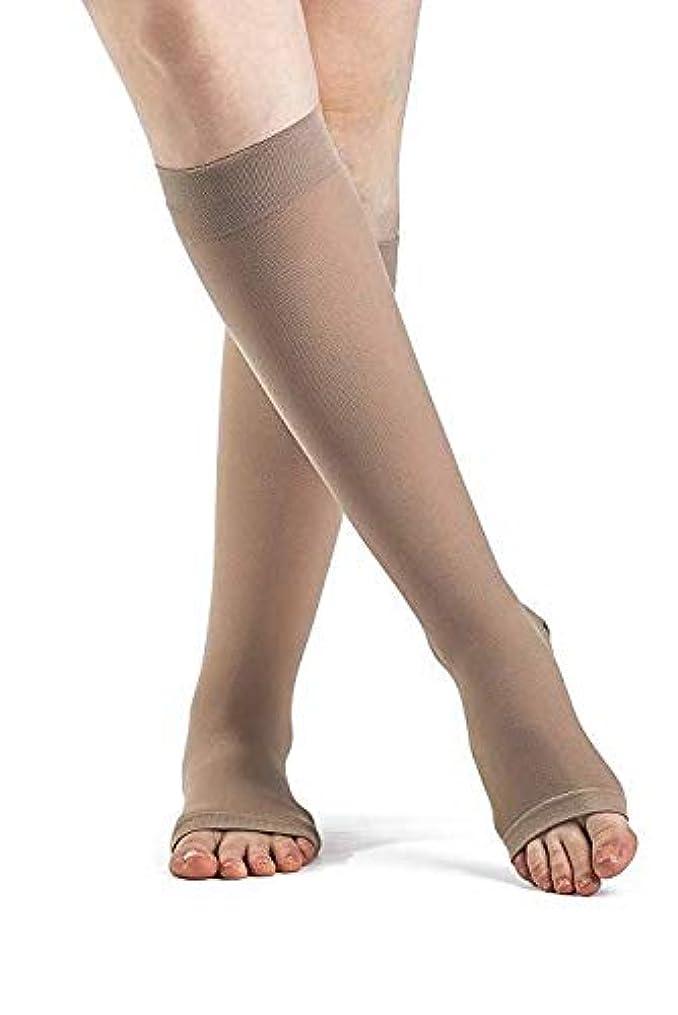 警察前任者鬼ごっこ970 Access Series 20-30 mmHg Unisex Open Toe Knee High Sock Size: Medium Short (MS) by Sigvaris