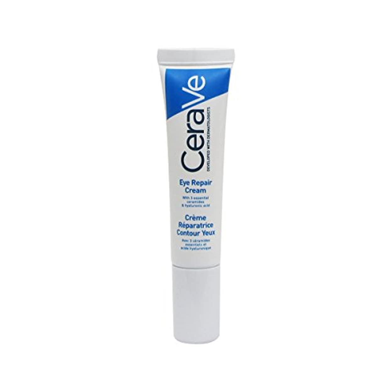 固体盲目差別Cerave Eye Care Cream 14ml [並行輸入品]
