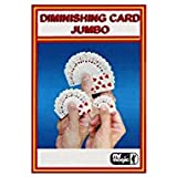 Diminishing Cards (Jumbo) by Mr. Magic - Trick By The Essel Magic [並行輸入品]