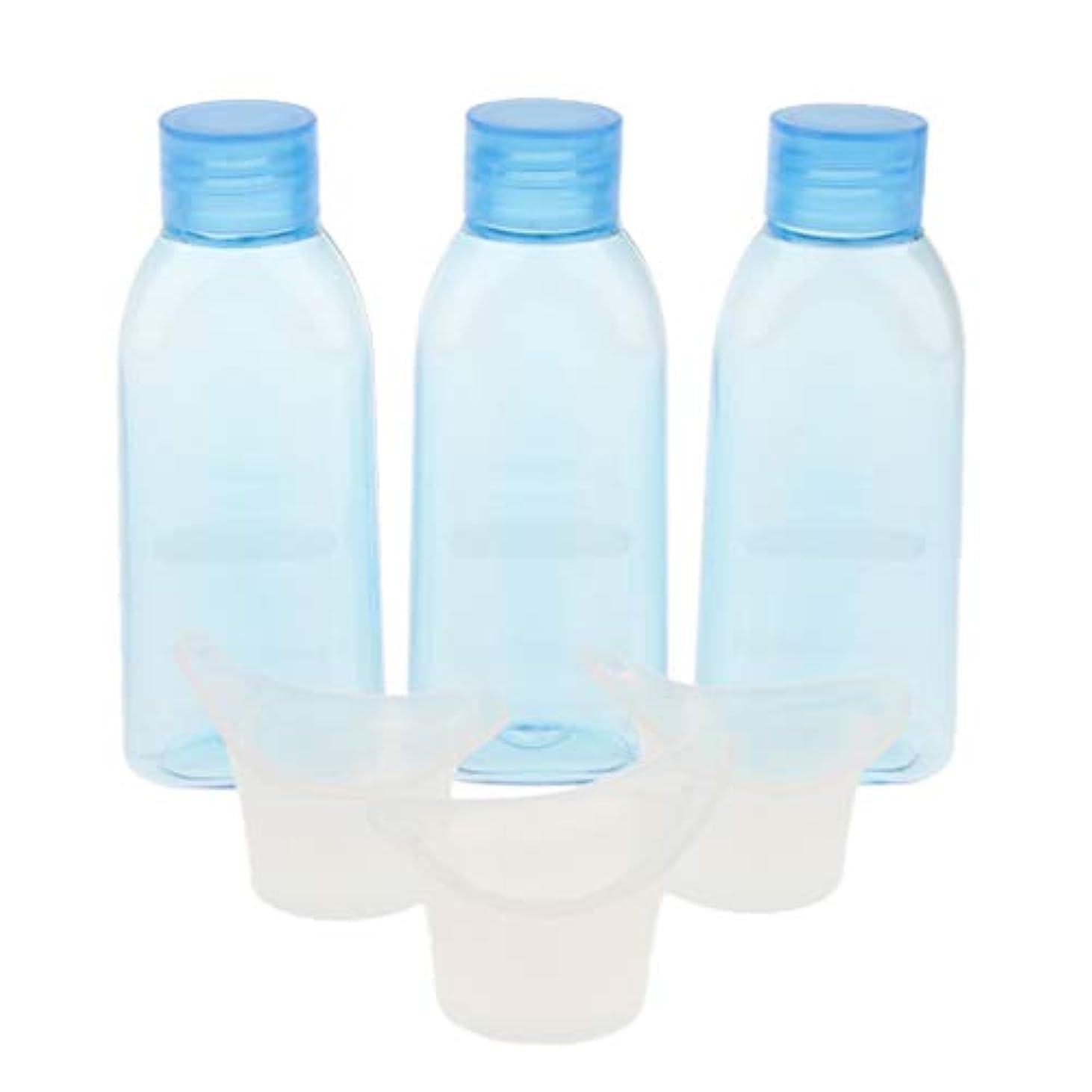 認める講師脅迫3セット アイスウォッシュ ボトル カップ 洗浄用 洗眼容器 2サイズ選べ - 100ミリリットル