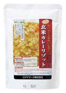 コジマ 玄米カレーリゾット 180g×10個    JANコード:4905903000187 コジマフーズ株式会社