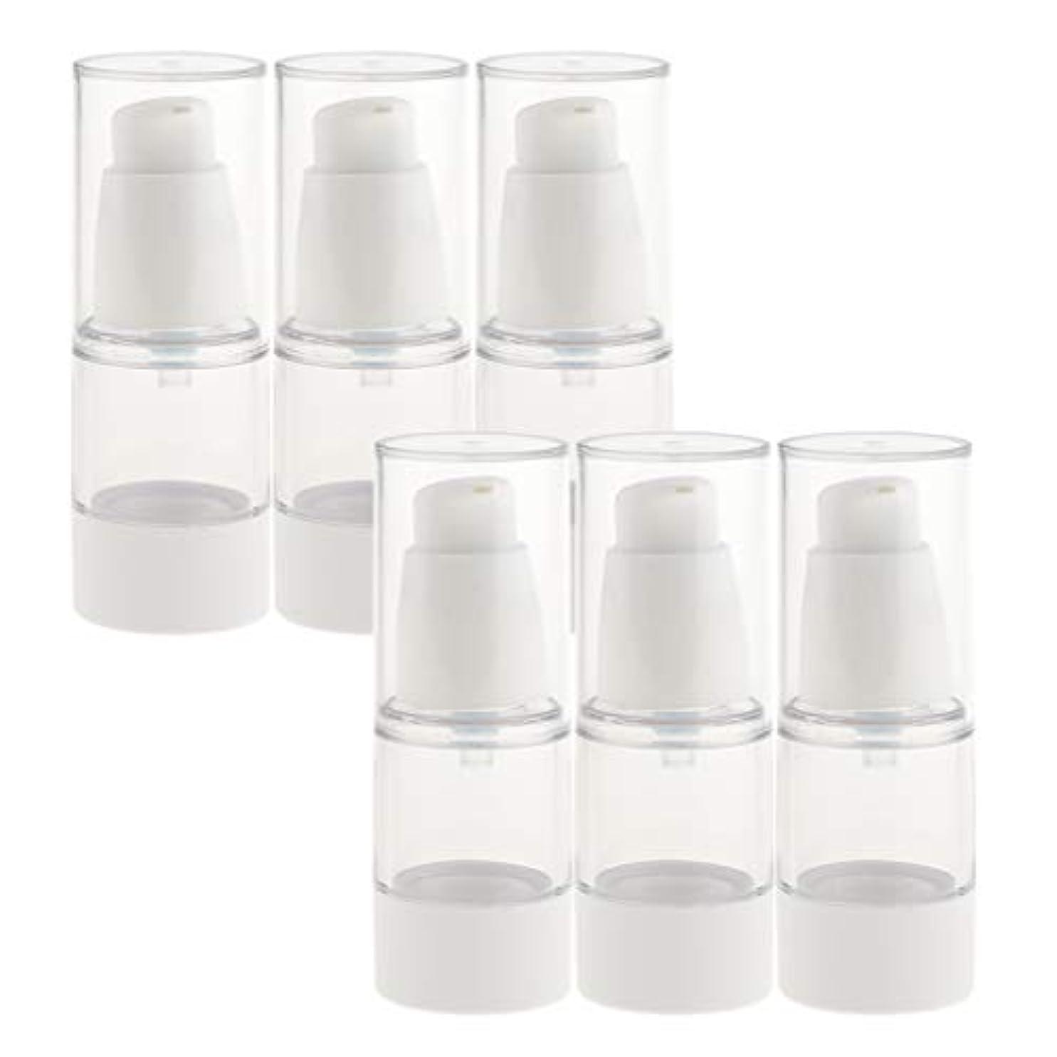 可愛い霧深いうまB Baosity 6個 真空スプレーボトル ミストボトル 真空ボトル コスメ 化粧品 2サイズ選べ - 15ミリリットル