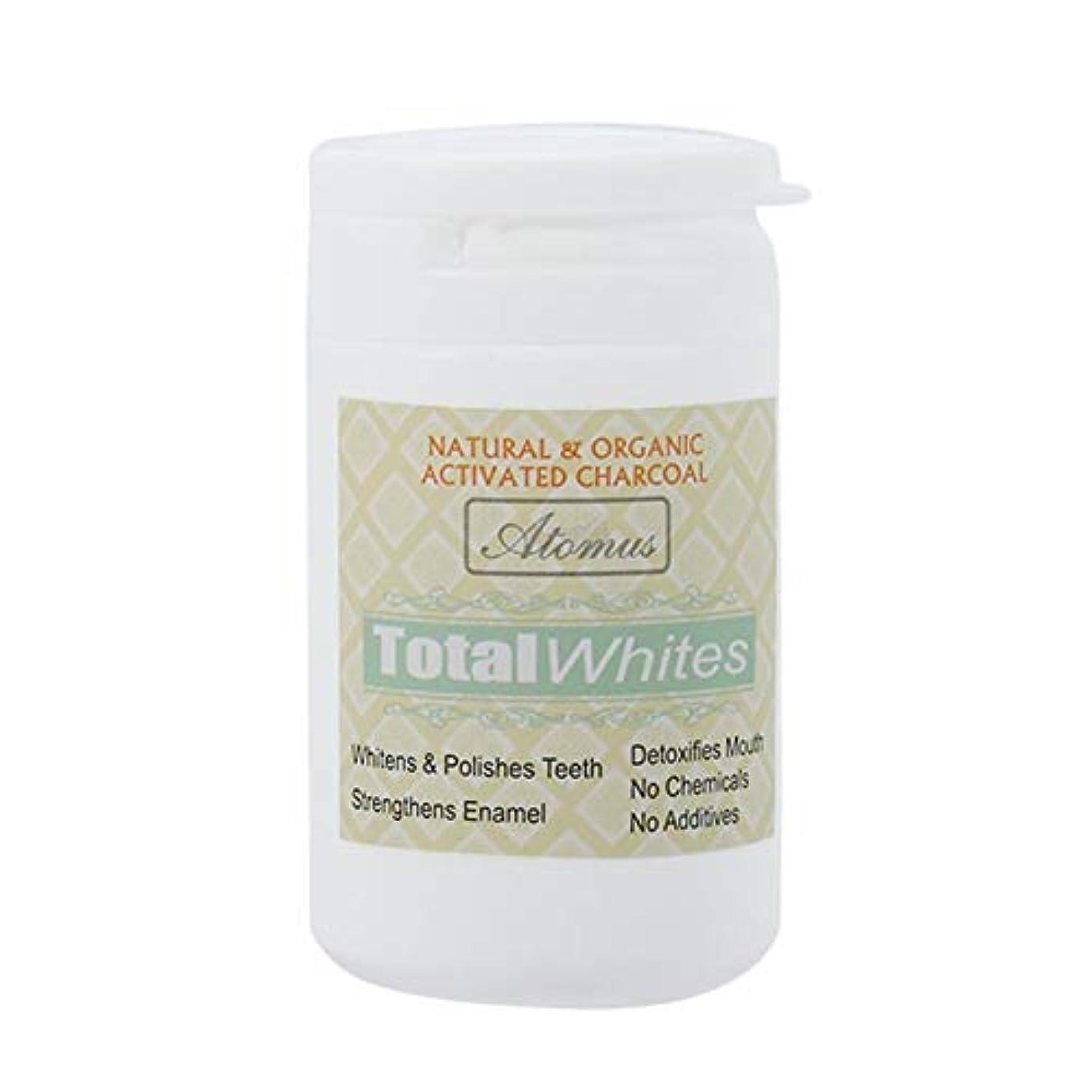銛驚かす割れ目歯のホワイトニングパウダー、活性炭の歯のホワイトナーパウダー - 有機安全で効果的なホワイトナーの解決策 - ホワイトニングの歯とフレッシュな息