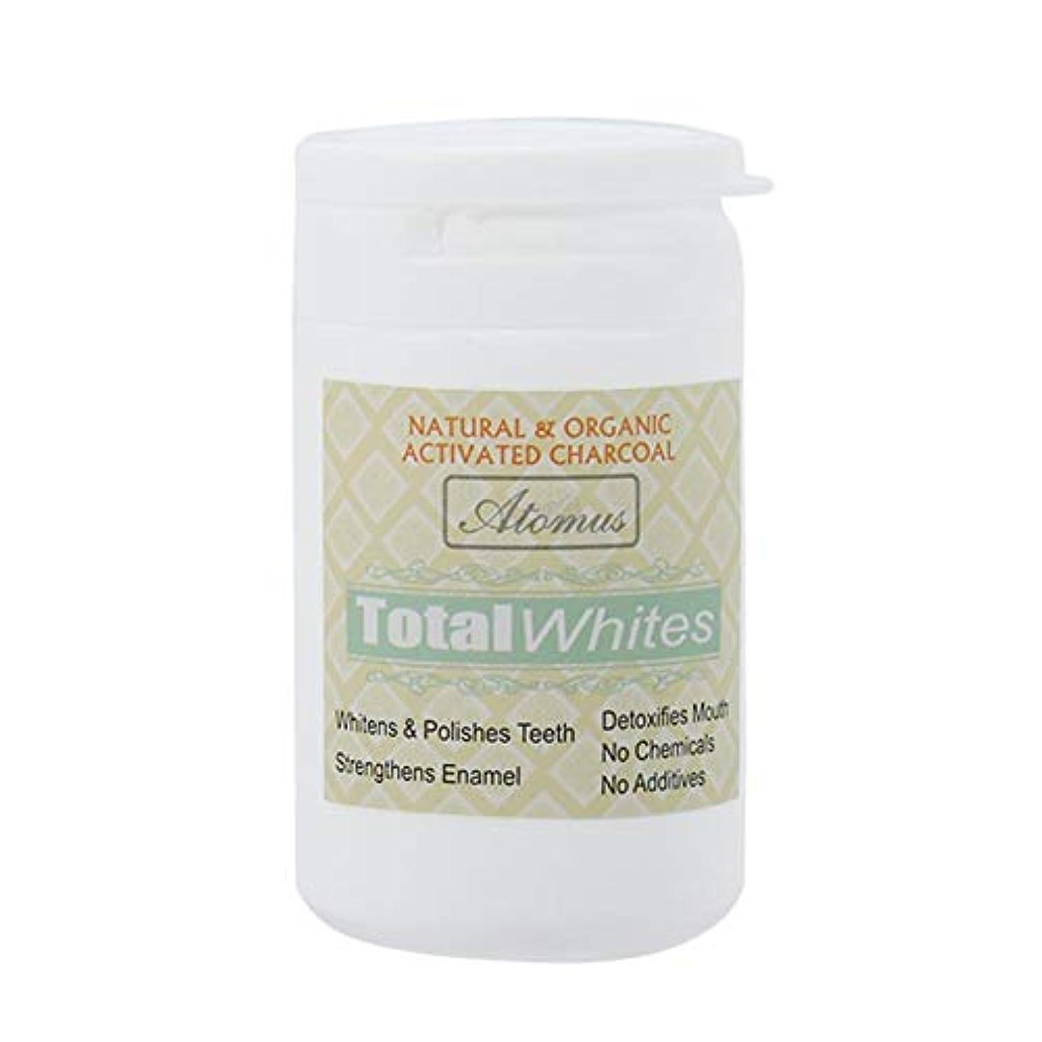 樹皮病暫定歯のホワイトニングパウダー、活性炭の歯のホワイトナーパウダー - 有機安全で効果的なホワイトナーの解決策 - ホワイトニングの歯とフレッシュな息