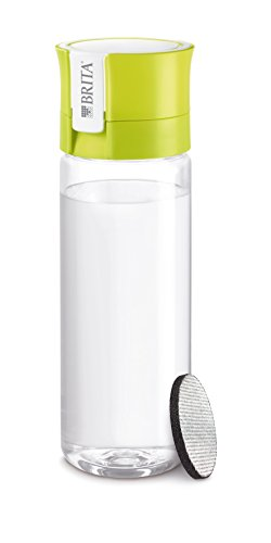 ブリタ 水筒 直飲み 600ml 携帯用 浄水器 ボトル カートリッジ 1個付き フィル&ゴー ライム 【日本仕様・日本正規品】