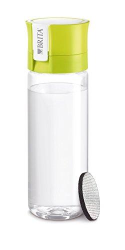 BRITA ブリタ 水筒 直飲み 600ml 携帯用 浄水器 ボトル カートリッジ 1個付き フィル&ゴー ライム 【日本仕様・日本正規品】 fill & go