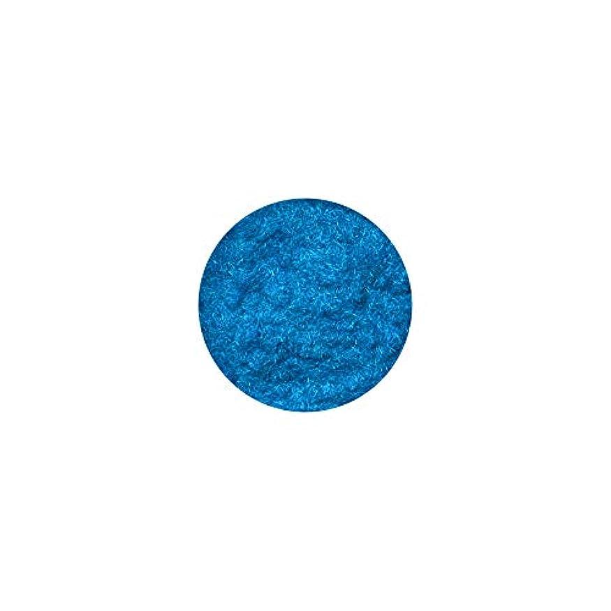 悲鳴キャプションパトロンベルベットパウダー[ターコイズブルー] フェルト ジェルネイル