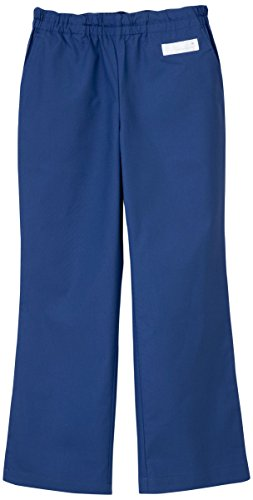 ナガイレーベン 男女兼用パンツ (スクラブパンツ) 医療白衣 ロイヤルブルー M SL-5093