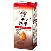 グリコ乳業 アーモンド効果 薫るカカオ 200ml紙パック×24本入×(2ケース)