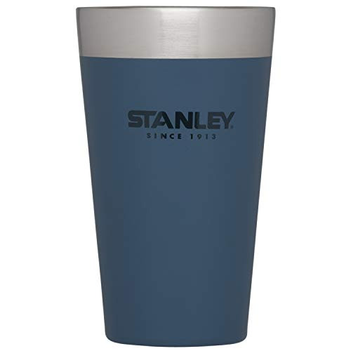 STANLEY(スタンレー) スタッキング真空パイント 0.47L マットネイビー 保冷 保温 ビール タンブラー 秋 ア...