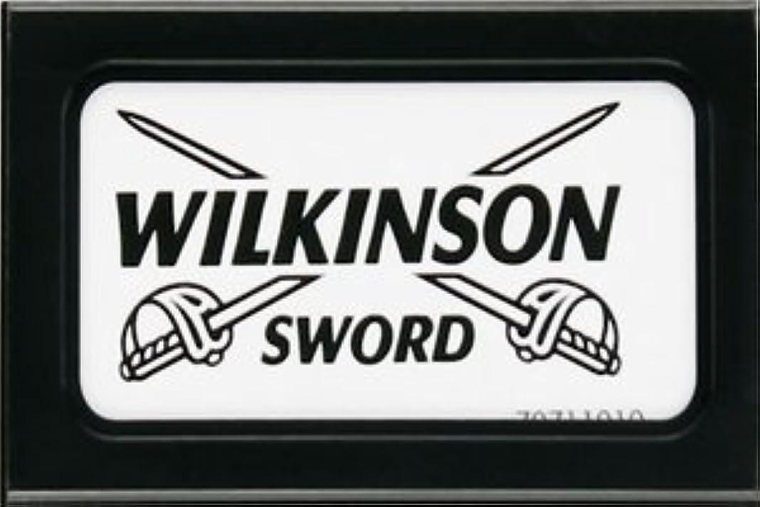 中世のフラッシュのように素早く石灰岩Wilkinson Sword (Germany) 両刃替刃 5枚入り(5枚入り1 個セット)【並行輸入品】