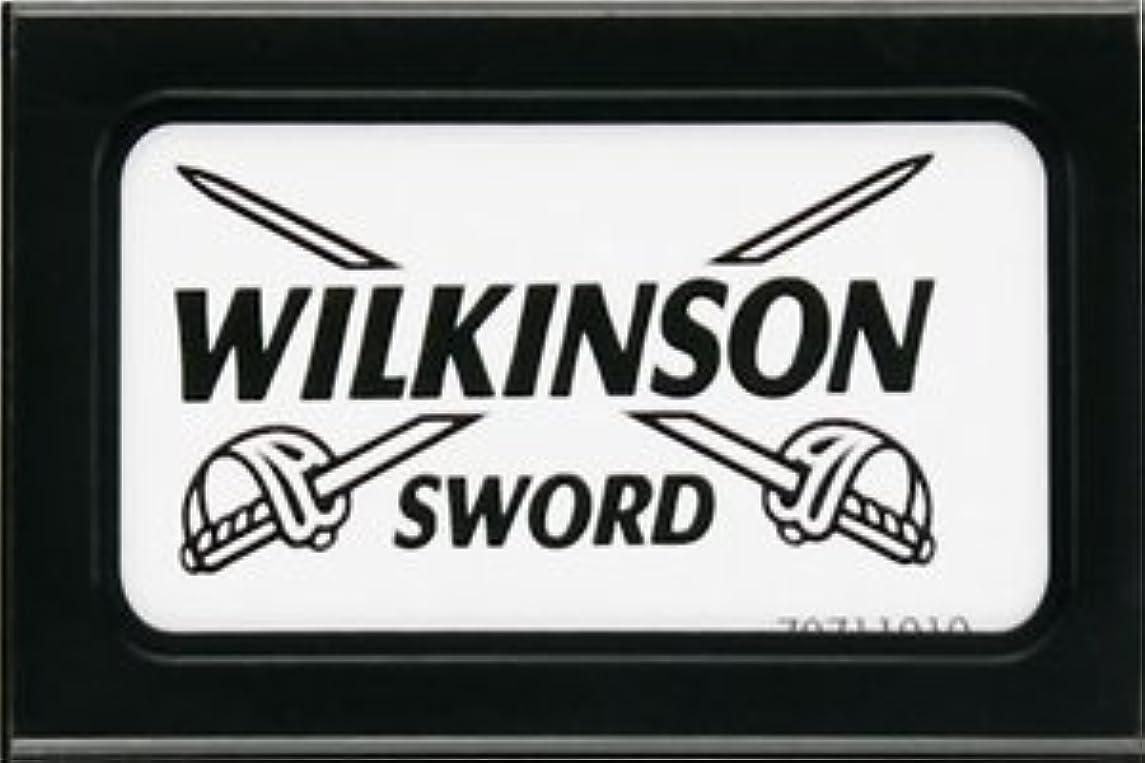 全く無礼に住むWilkinson Sword (Germany) 両刃替刃 5枚入り(5枚入り1 個セット)【並行輸入品】