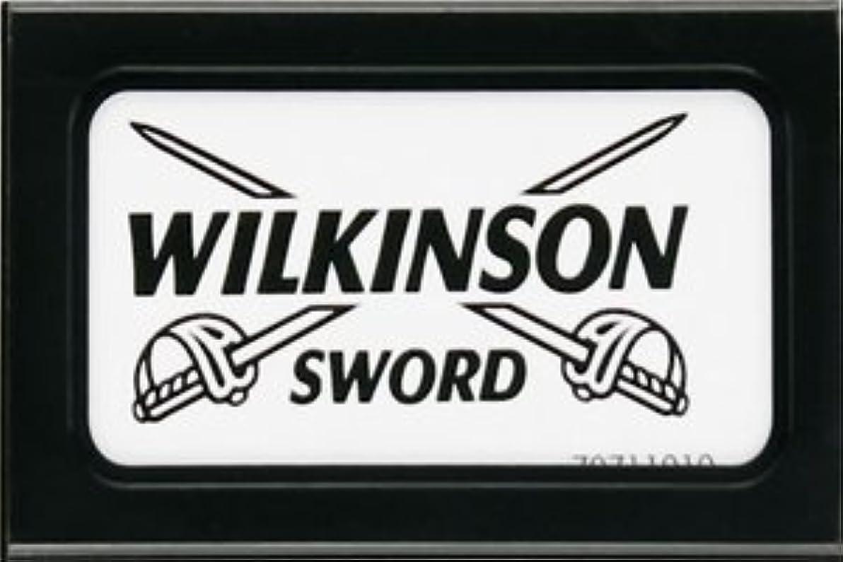 硬化する従順ベンチWilkinson Sword (Germany) 両刃替刃 5枚入り(5枚入り1 個セット)【並行輸入品】