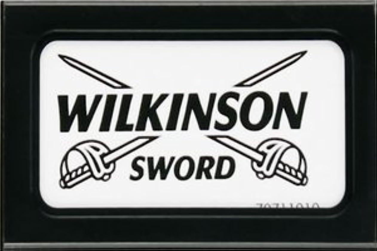 カーテン傷つける偏心Wilkinson Sword (Germany) 両刃替刃 5枚入り(5枚入り1 個セット)【並行輸入品】