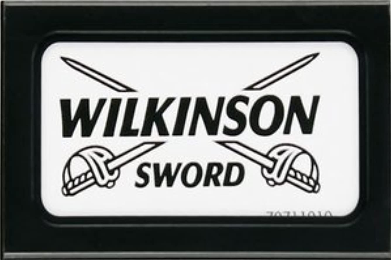 上昇エキサイティング同性愛者Wilkinson Sword (Germany) 両刃替刃 5枚入り(5枚入り1 個セット)【並行輸入品】