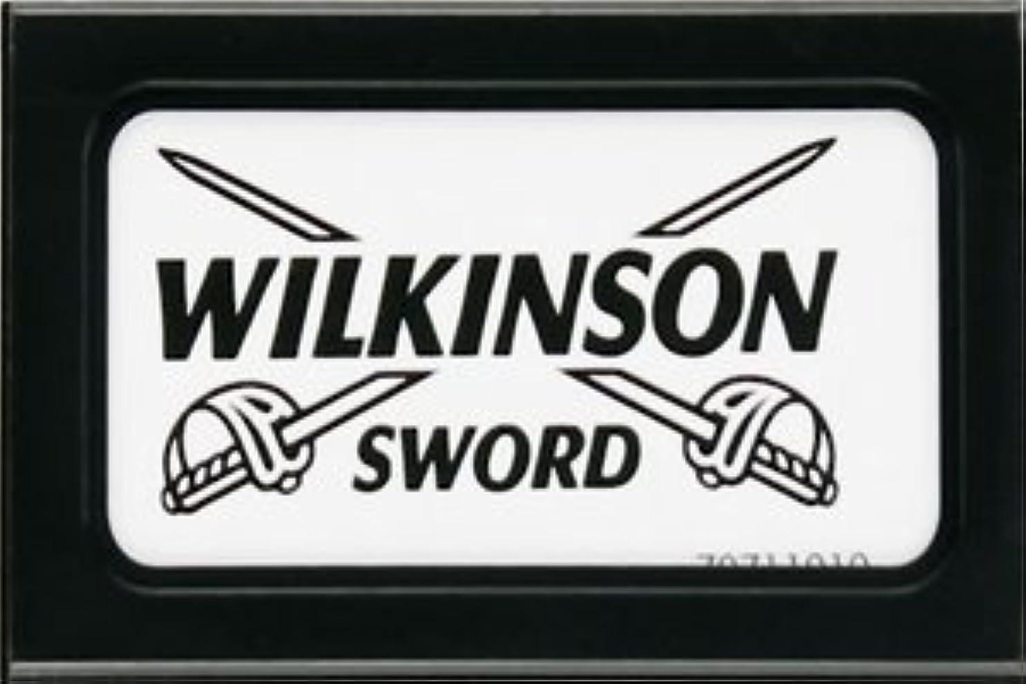 シロクマ粘液ママWilkinson Sword (Germany) 両刃替刃 5枚入り(5枚入り1 個セット)【並行輸入品】