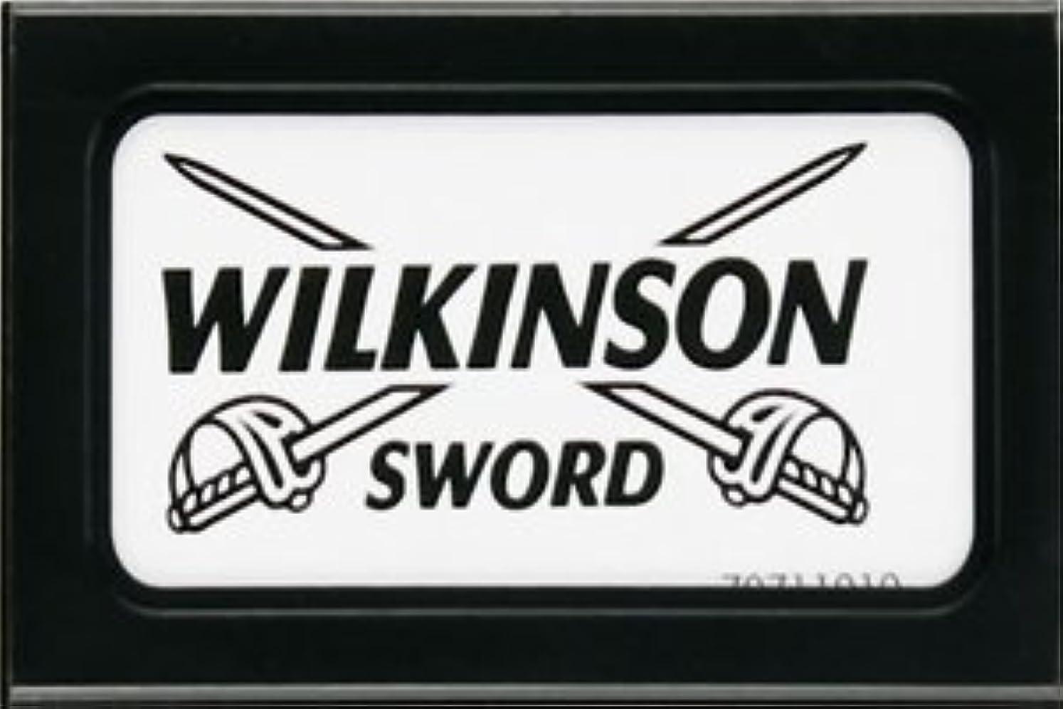 炎上かける太字Wilkinson Sword (Germany) 両刃替刃 5枚入り(5枚入り1 個セット)【並行輸入品】
