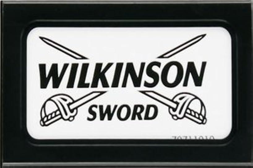 隙間ひも焦げWilkinson Sword (Germany) 両刃替刃 5枚入り(5枚入り1 個セット)【並行輸入品】