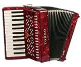 【ソフトケース付属】TOMBO/トンボ TA-27A[アルト] 赤パール Ensemble 合奏用アコーディオン 27鍵
