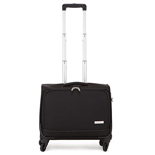 (プラスワン)PLUS ONE スーツケース 3015-45W 34cm ブラック