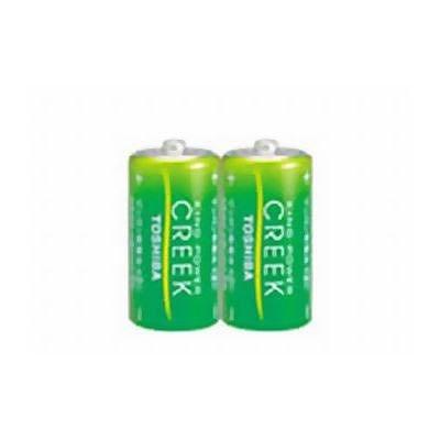 東芝 鉛無添加マンガン乾電池 単2形2本パック [キングパワー・クリーク] R14P EM 2KP