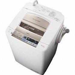日立 9.0kg 全自動洗濯機 シャンパンHITACHI ビートウォッシュ BW-9SV-N