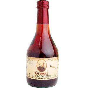 イタリアン 赤ワインビネガー 500ml グロソリ (醸造酢)