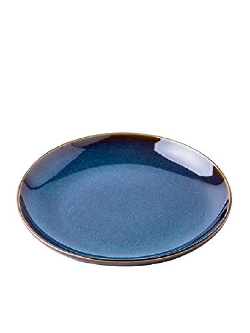 影響力のあるヘビー指導する北欧の陶磁器の皿家の食事の皿簡単な皿創造的なディスクステーキ皿パスタプレート個人化されたスナックプレート
