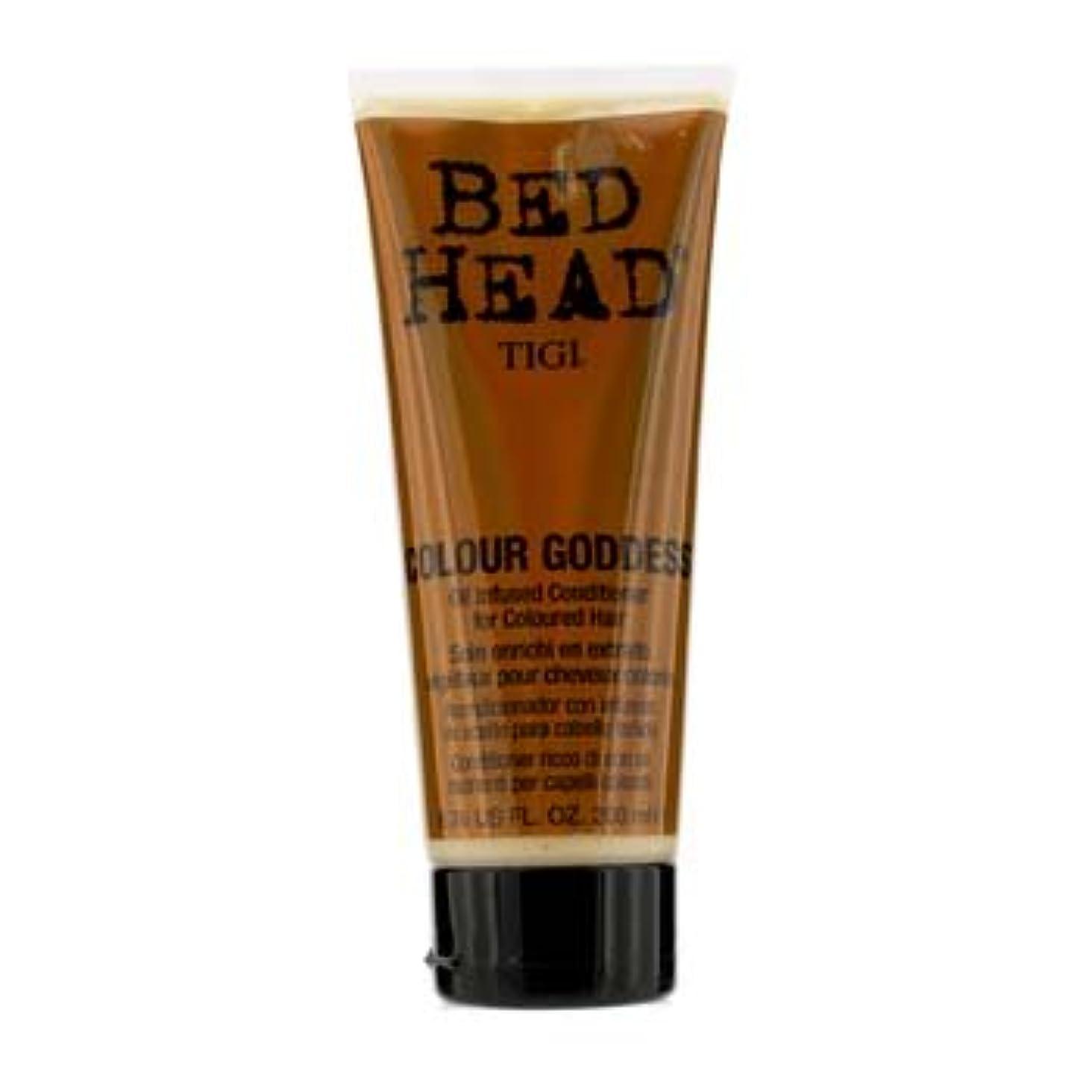 尊敬フォージ水っぽい[Tigi] Bed Head Colour Goddess Oil Infused Conditioner (For Coloured Hair) 200ml/6.76oz