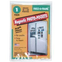 Freez A Frame, Magnetic 3-1/2 x 5 inches Photo Frame by Freez A Frame