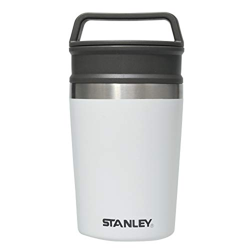 STANLEY(スタンレー) 真空マグ 0.23L ホワイト 保冷 保温 軽量 コンパクト コーヒー 保証 02887-038 (日本正規品)