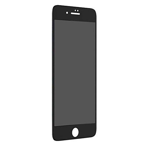 iPhone8 ガラスフィルム iPhone7 ガラスフィルム 覗き見防止左右180° 3D曲面フル...