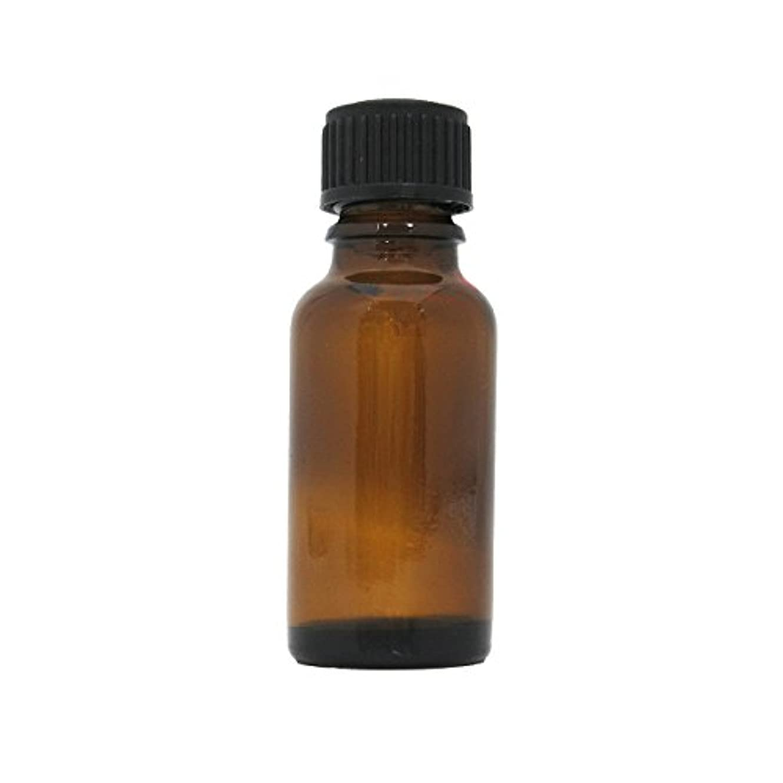 散逸否認する差茶色遮光瓶 20ml (ドロッパー付)
