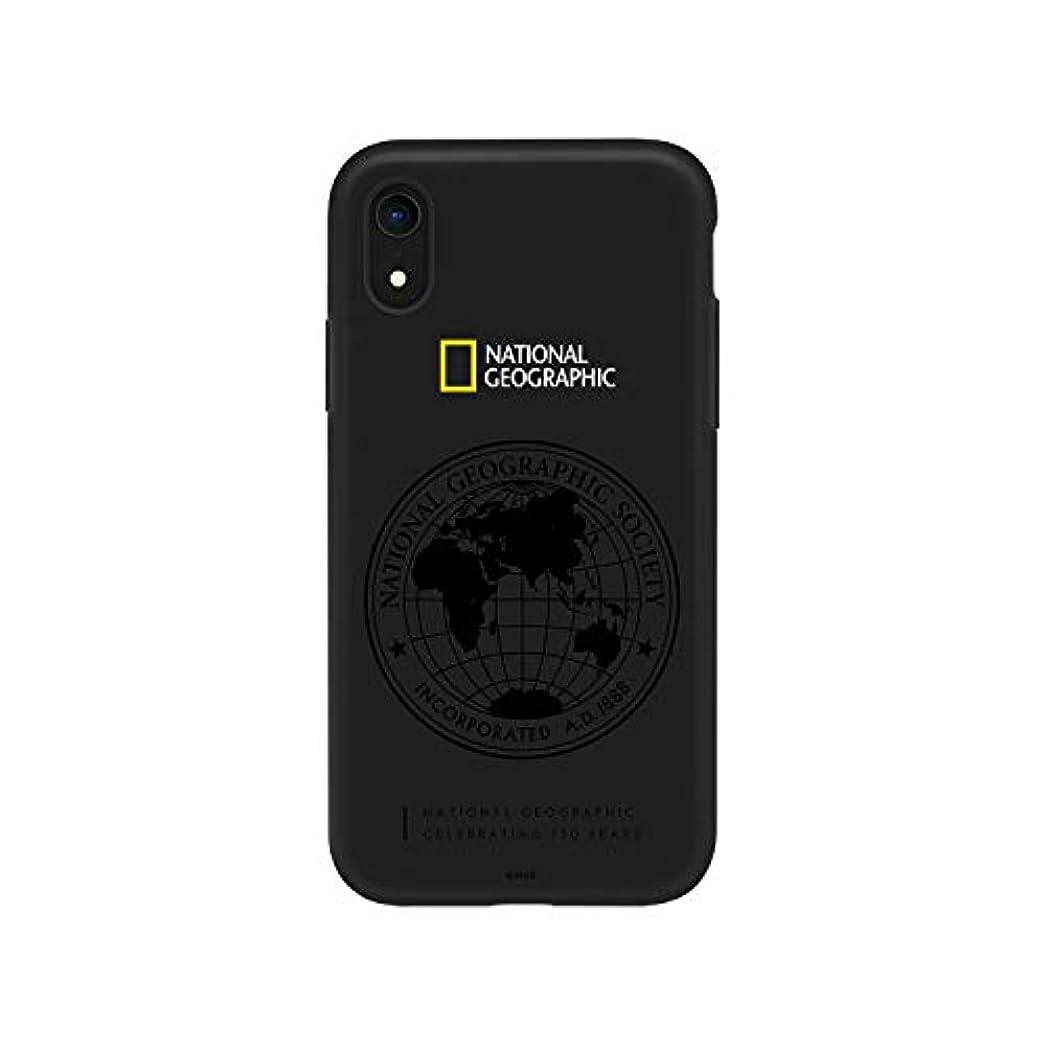 古代空港あごNational Geographic iPhone XR ケース 130th Anniversary case Double Protective ブラック ワイヤレス充電対応【日本正規代理店品】 NG14137i61