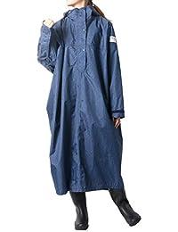 [サムシング エドウィン] レインウェア レディース レイン ポンチョ コート 軽量 撥水 防水