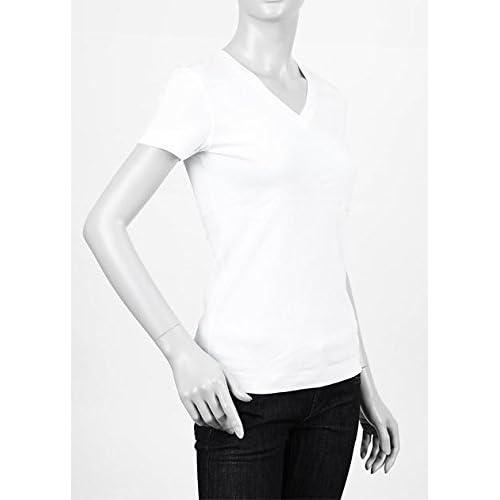 (スリードッツ) three dots VネックTシャツ XSサイズ WHITE ホワイト [並行輸入品]