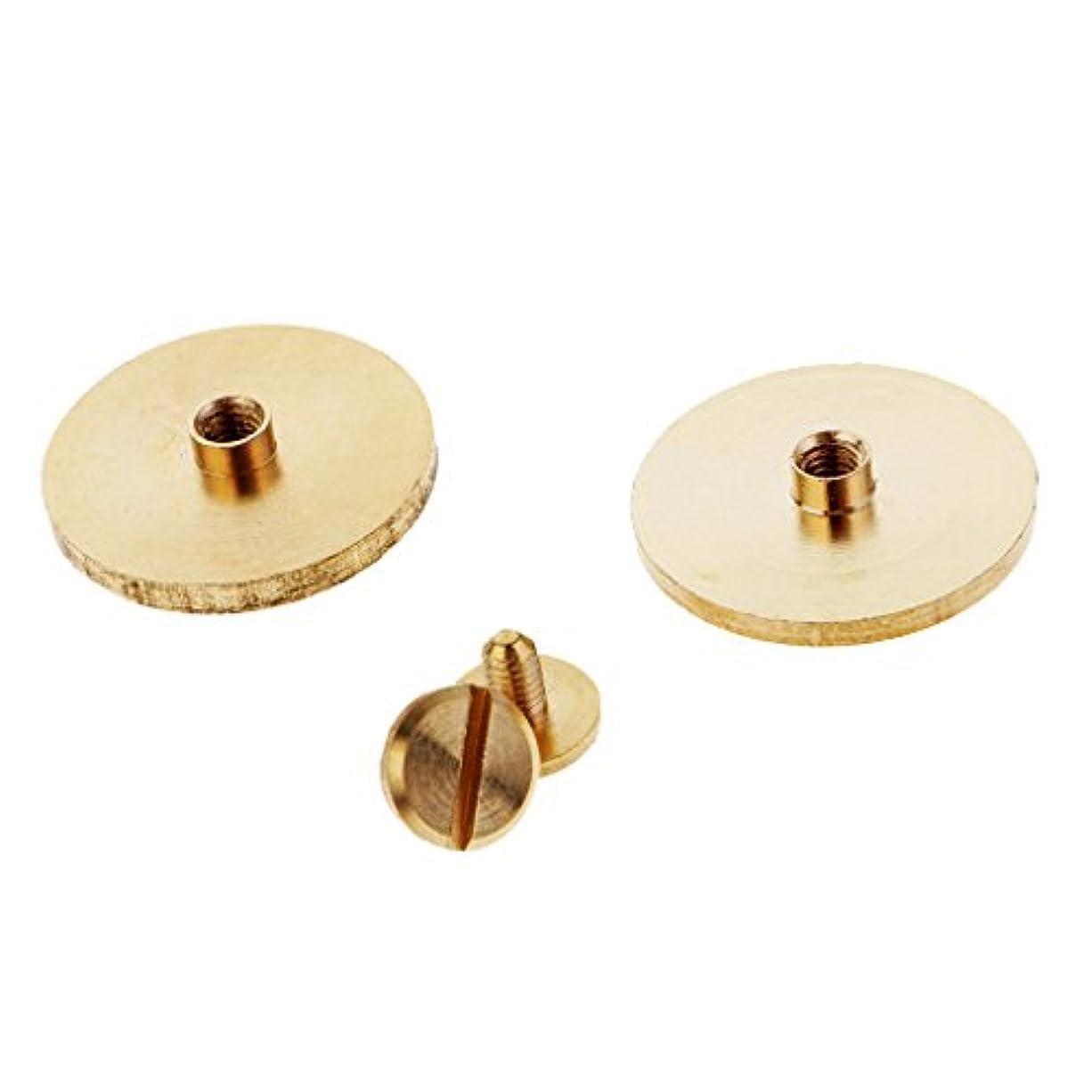 考古学浮浪者復活するリベット 衣類装飾 スタッド ボタン キャップ レザーアクセサリー 手作り 2個入り 全4サイズ - 20mm