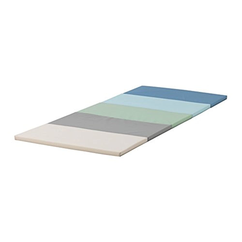 IKEA イケア PLUFSIG 折りたたみ式ジムマット, ブルー 003.778.99